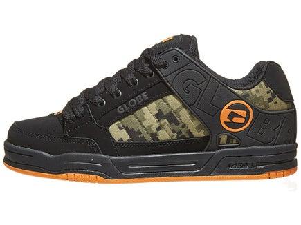 49ff369cb357 Globe Tilt Shoes Black Camo Orange