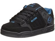 Globe Tilt Shoes Black/Black/Blue