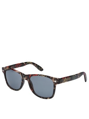 Glassy Leonard Sunglasses  Black Leaf