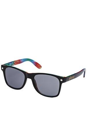 Glassy Leonard Sunglasses  Black/Tye-Dye