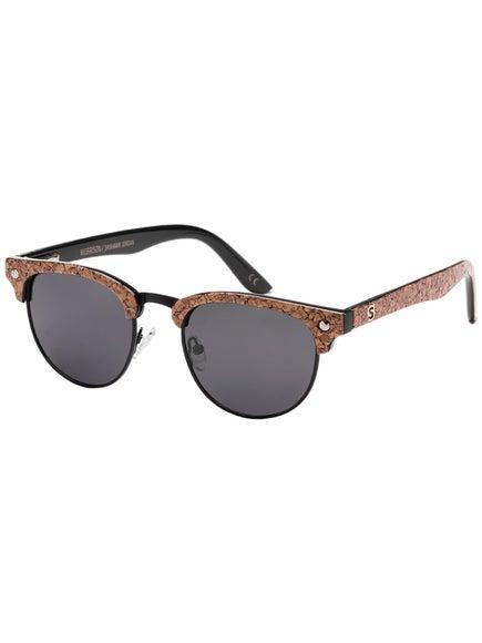 8fae3646df Glassy Dashawn Morrison Polarized Sunglasses Black Cork