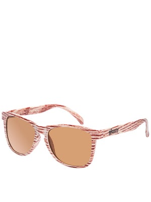 Glassy Deric Sunglasses  Light Wood
