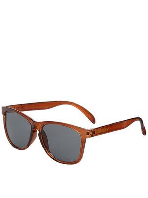 Glassy Deric Sunglasses  Transparent Coffee
