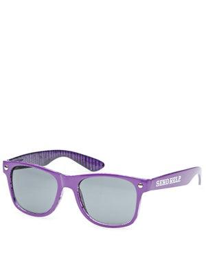 Glassy Halfy Sunglasses  Send Help