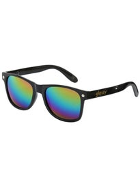 Glassy Leonard Sunglasses  Black/Color Mirror