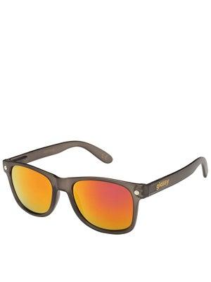 Glassy Leonard Sunglasses Dark Grey/Purple Mirror