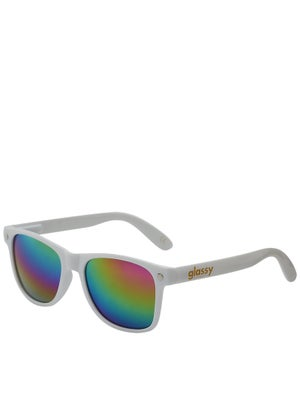 Glassy Leonard Sunglasses  White/Color