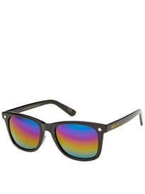 Glassy Mikemo Sunglasses  Black/Color Mirror Polarized