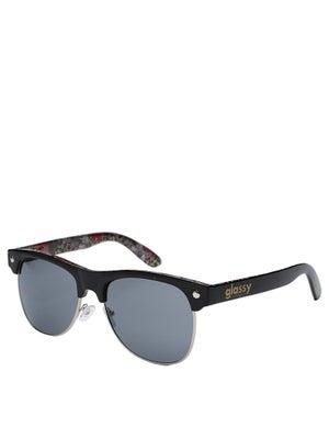 Glassy Shredder Sunglasses  Black/Cheetah