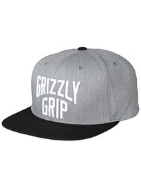 Grizzly Big City Snapback Hat