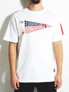 Grizzly Bad News Bruisers Pennant T-Shirt