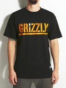 Grizzly Colored Bear Stamp T-Shirt