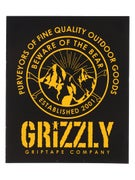 Grizzly Frost Peak Sticker