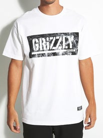 Grizzly Hot Box Logo Stamp T-Shirt