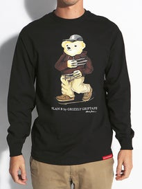 Grizzly Joslin Bear Longsleeve T-Shirt