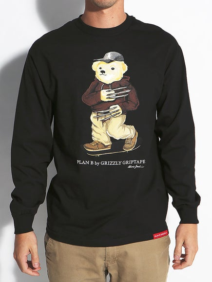 Grizzly Joslin Bear Longsleeve T-Shirt