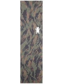 Grizzly Mark Appleyard Die Cut Bear Camo Griptape