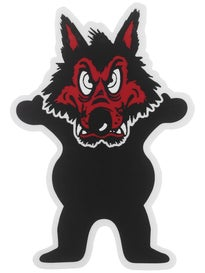 Grizzly Nick Tucker Wolfpack Bear Sticker