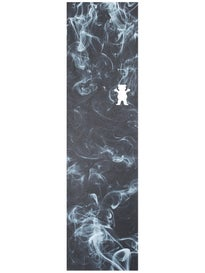 Grizzly Die Cut Bear Griptape Smoke
