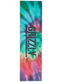 Grizzly Reverse Tie Dye Stamp Griptape