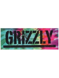 Grizzly Reverse Tie Dye Stamp Sticker