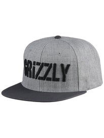 Grizzly Stamp Snapback Hat