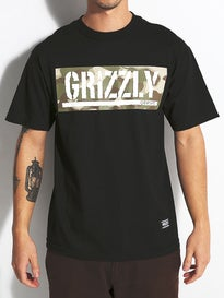 Grizzly Sycamore Box Logo T-Shirt