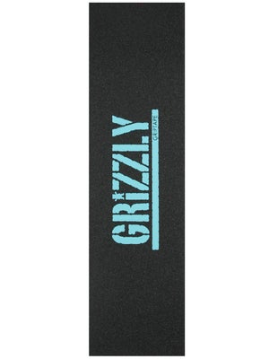Grizzly Stamp Print Griptape Diamond Blue