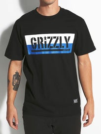 Grizzly Split Stamp T-Shirt