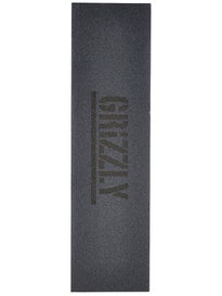 Grizzly Stamp Print Griptape Black