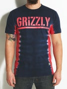 Grizzly T-Bone Tie Dye Stamp T-Shirt