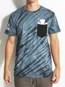 Grizzly Tie Dye Pocket T-Shirt