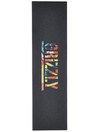 Grizzly T-Puds Stamp Griptape Orange Tie Dye