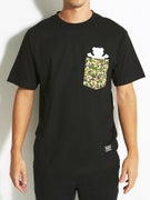 Grizzly Wild Woods Pocket T-Shirt