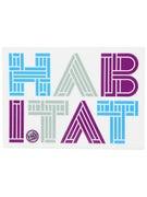 Habitat Linotype Sticker