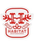 Habitat Monogram Sticker