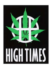 HUF x High Times Sticker