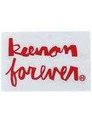 HUF Keenan Forever Sticker