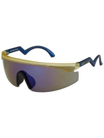 Happy Hour Accelerators Sunglasses Frosted Yellow/Blue