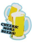Happy Hour Cheers! More Beers! Sticker