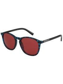 Happy Hour Nuge Flap Jacks Sunglasses Blue Tortoise/Red