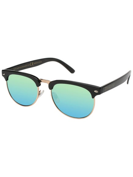 22b48587eb Happy Hour Herman G2 Sunglasses Black Gold Mirror