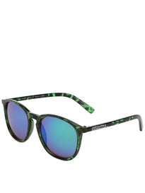 Happy Hour Nuge Flap Jacks Sunglasses  Green Tortoise