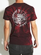 Happy Hour Rippin N Sippin Red Dye T-Shirt