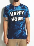 Happy Hour Stack Logo Tie Dye T-Shirt