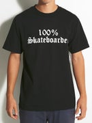 Hard Luck 100% Skateboarder T-Shirt