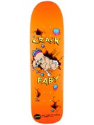 Hammers Crack Baby Orange Deck  8.625 x 31.75