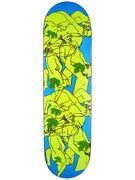 Hammers Orgy Blue/Yellow Deck  8.475 x 32.25