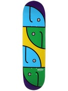 Hosoi Gonz Fish Heads Purple Deck 8.0 x 32