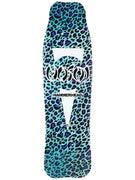 Hosoi Hammerhead Leopard Teal Deck 8.5 x 31.5